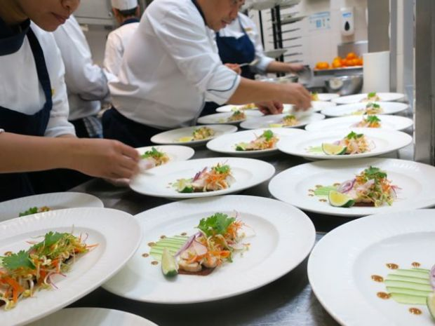 plating at Shangri-la